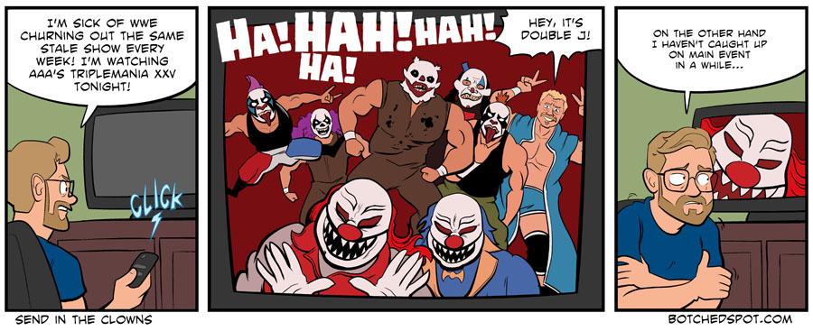 Trop de clowns, tue les clowns