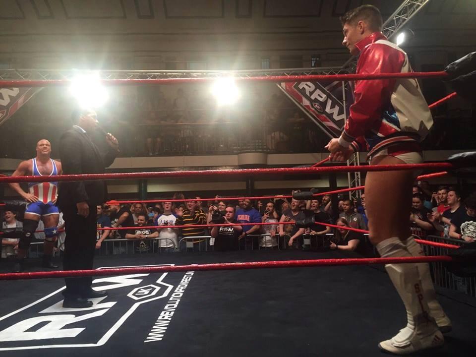 Kurt Angle vs. ZSJ #WrestlingIn2016