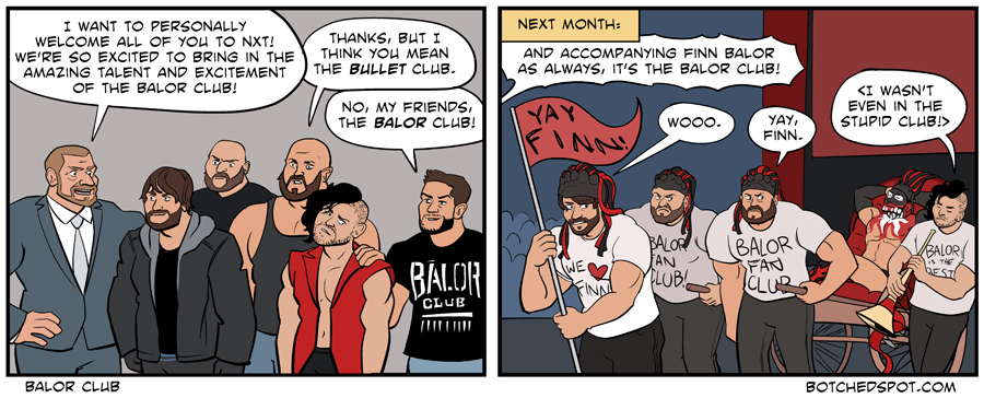Botched Spot: WWE's Bullet Club Invasion
