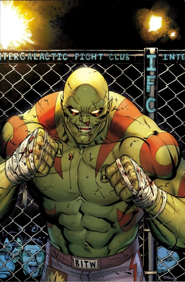 Drax The Destroyer, façon CM Punk