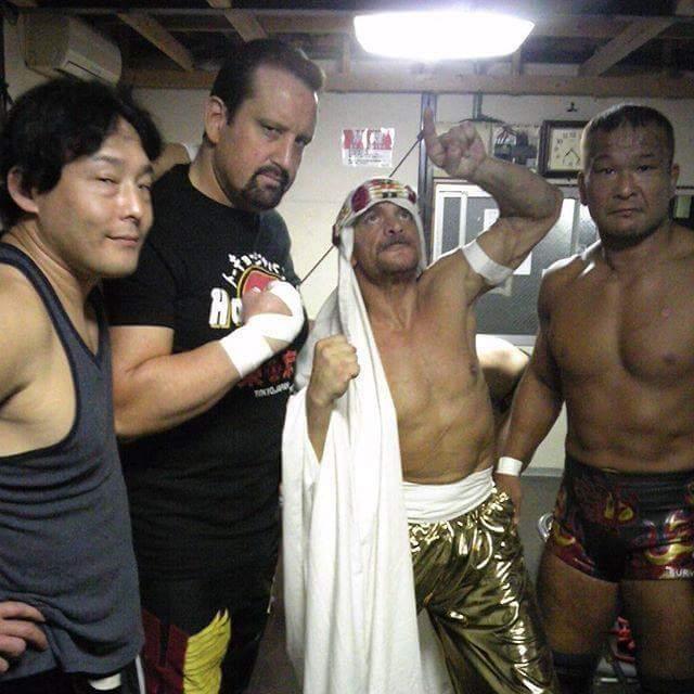 Vieux briscards de l'ECW toujours en forme