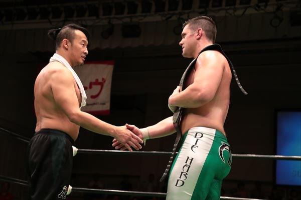 Marufuji : You deserve it, mate !