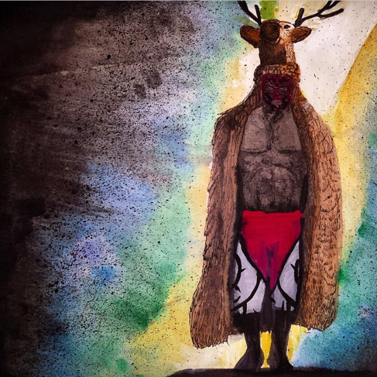 Le Roi Sylvestre Solitaire, King Cuerno