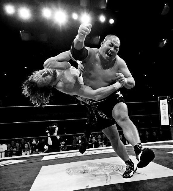 Lariat King, Lion's Slayer & The One Pillar In Heaven - Tomohiro Ishii