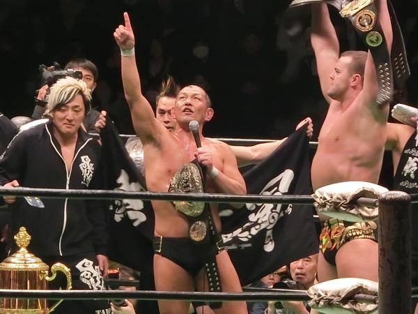 Quand Suzuki-Gun pille la Pro-Wrestling NOAH ...