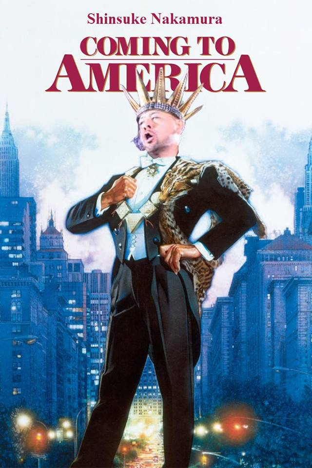 Shinsuke Nakamura is coming to America !