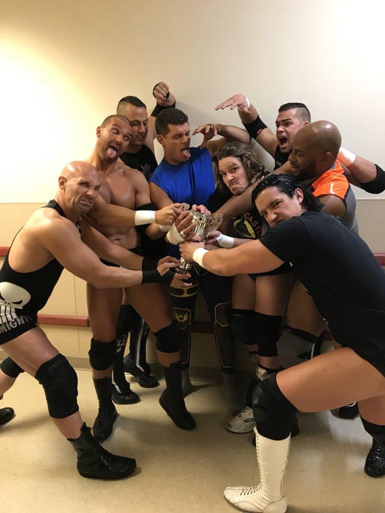 Le vestiaire (de la ROH) s'amuse