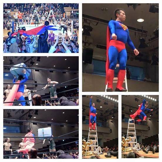 A la M-Pro, ils ont Superman Oyanagi !