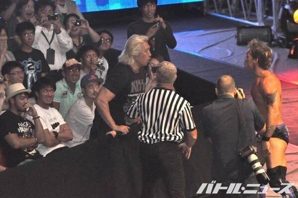 Chris Jericho vs. Yoshirio Takayama, it's on !
