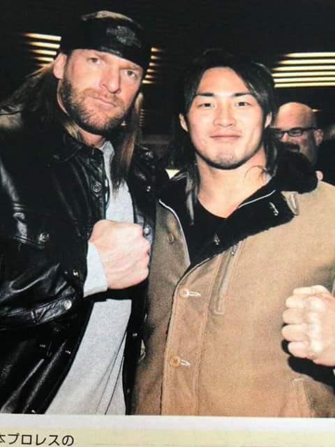Triple H et Hiroshi Tanahashi ou la Croisée des Mondes !