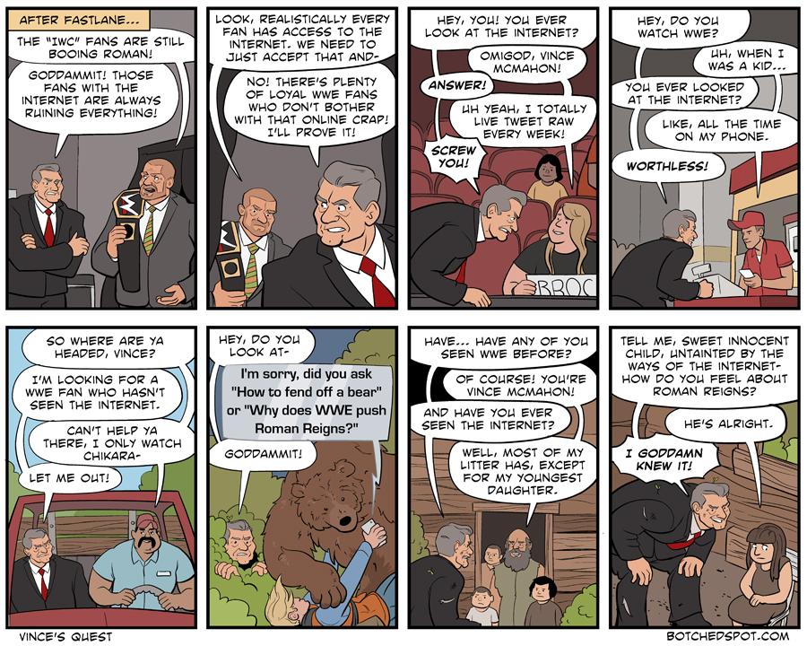 Vince McMahon & the Quest for Non-Internet Fans