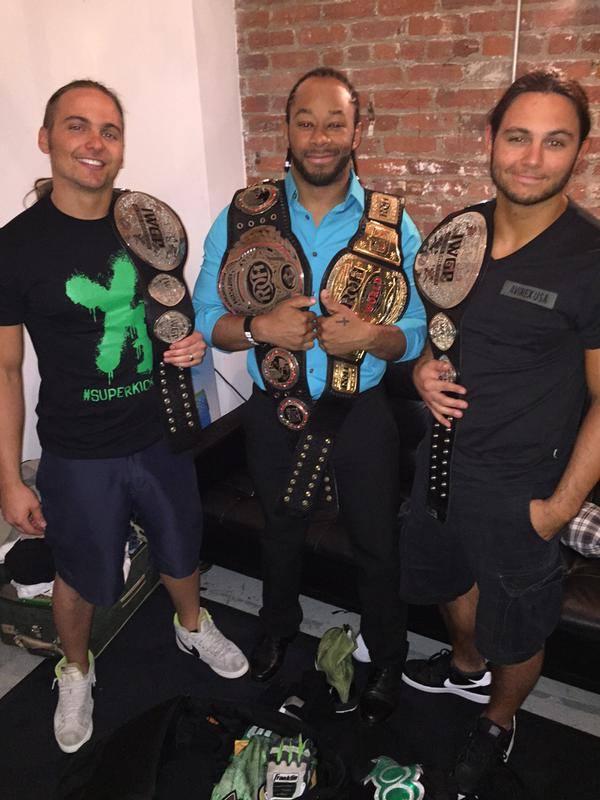4 ceintures, 3 champions et que du talent !