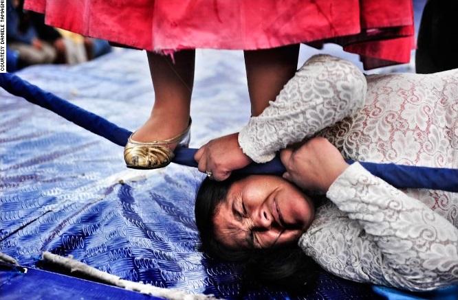 Cholitas wrestling 1