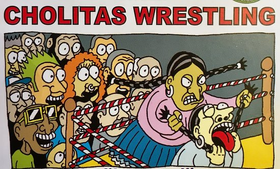 Cholitas wrestling 2