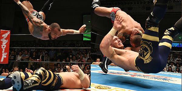 Ricochet vs Will Ospreay NJPW