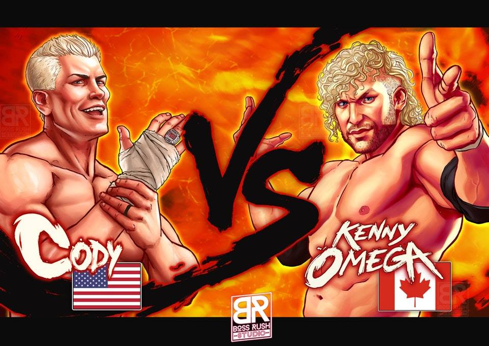 Cody vs kenny street fighter