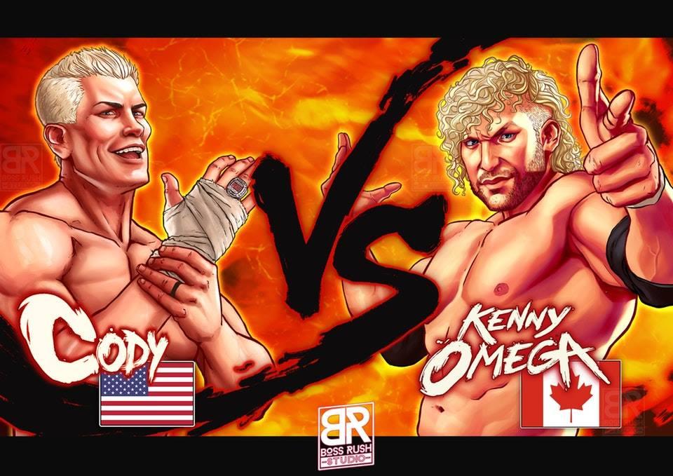 Cody vs kenny street fighter