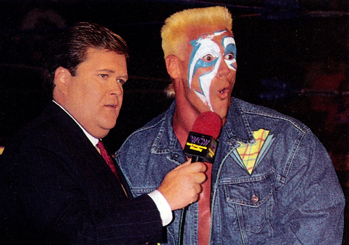 Jim ross and sting