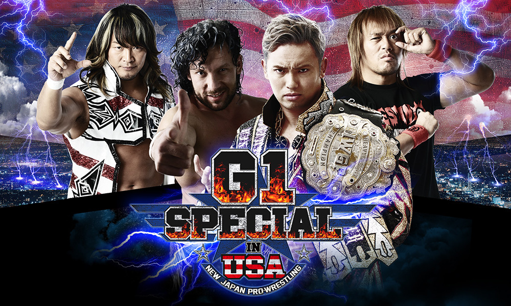 Njpw g1 special in usa